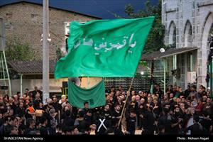 عزاداری عاشورا و تاسوعای حسینی در غرب گلستان+گزارش تصویری