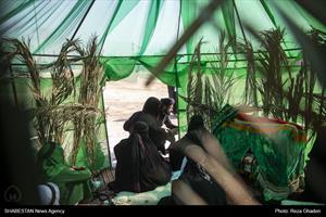 تعزیه شهادت امام حسین (ع) در روستای «چاه شرف» فارس