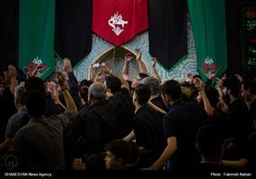 عزاداری عاشورای حسینی در هیئت نینوایان خوزستان شیراز