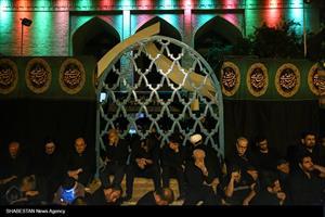 مراسم عزاداری امام حسین (ع) در هیأت میثاق با شهدا