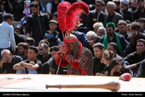 آئین عزاداری و تعزیه خوانی روز عاشورا در روستای فدیشه نیشابور