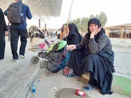 عشق و دلدادگی به فرهنگ حسینی در  مرز مهران