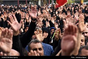 اجتماع عزاداران اربعین حسینی(ع) در رشت