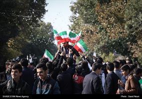 برگزاری راهپیمایی ۱۳ آبان در ارومیه