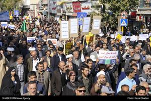 راهپیمایی شیرازیها در حمایت از امنیت و اقتدار کشور