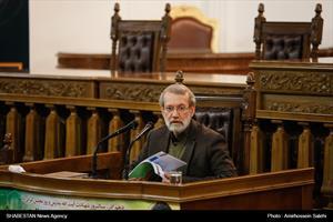 نشست خبری رئیس مجلس شورای اسلامی