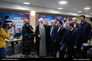 بازدید دادستان کل کشور از ستاد مرکزی انتخابات
