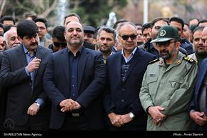 افتتاح ایستگاه کوهسنگی خط دو قطار شهری مشهد