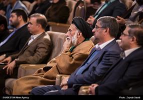 مراسم گرامیداشت روز وحدت حوزه و دانشگاه با حضور وزیر بهداشت در همدان