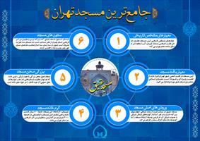 اینفوگرافی| جامع ترین مسجد تهران
