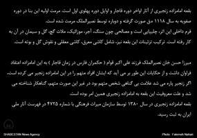 معرفی آستان امامزاده زنجیری در شیراز