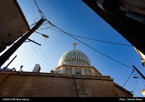 نمایی از امامزاده در محله گود عربان