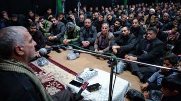 بزرگداشت سردار سلیمانی در شهر ابوزیدآباد