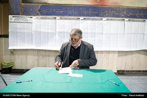 رأیگیری یازدهمین دوره انتخابات مجلس شورای اسلامی در حسینیهجماران