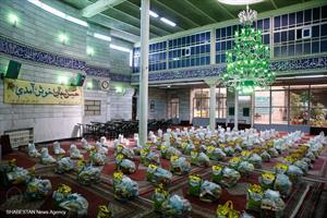 رزمایش مواسات در مسجد امام حسن مجتبی(ع)