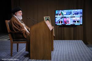 سخنرانی تلویزیونی رهبر انقلاب به مناسبت روز جهانی قدس
