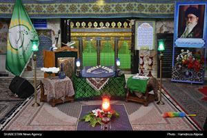 گزارش تصویری/ مراسم غبارروبی ضریح مرقد حضرت فاطمه اخری(س) در رشت