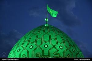 حرم سید جلالالدین اشرف در آستانه اشرفیه