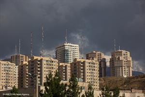 آسمان شهر، پس از باران