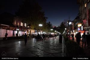 گزارش تصویری/ اجرای محدودیتهای کرونایی در بازار رشت