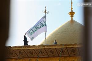 تزیین صحن و سرای بارگاه حضرت امیر المومنین (ع)