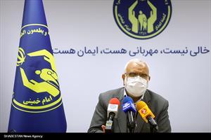 نشست خبری آغاز شروع به کار چویش ایران همدل و طرح اطعام مهدوی
