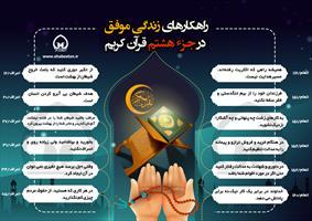 راهکارهای زندگی موفق در جزء هشتم قرآن کریم