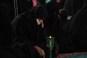 آیین شمع گردانی و خطبه خوانی حرم هلال بن علی(ع)