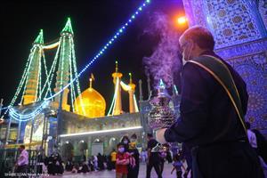 شب میلاد امام هادی(ع) درحرم حضرت معصومه(س)
