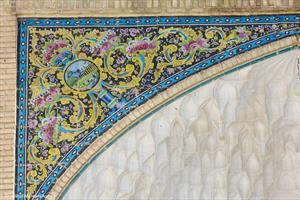 نقش و نگار صحن امام هادی(ع)