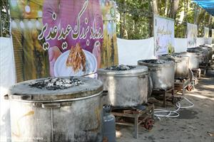 طبخ و توزیع ۱۱۰ هزار پرس غذای گرم در عید غدیر