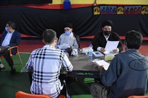 دیدار چهره به چهره مقامات قضایی خراسان جنوبی با مددجویان زندانی